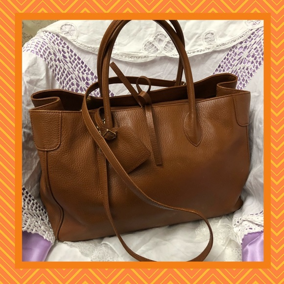 No Brand Bags   Brown Leather Shoulder Bag Good Condition   Poshmark 851b841ab8